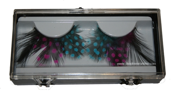 Picture of Scandal Fancy Feather Eyelashes Style J