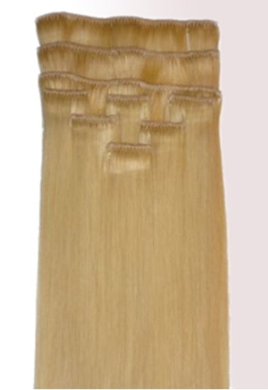 """Picture of 100% Human Protein Rich Remy Hair Extension 18"""" X 9"""