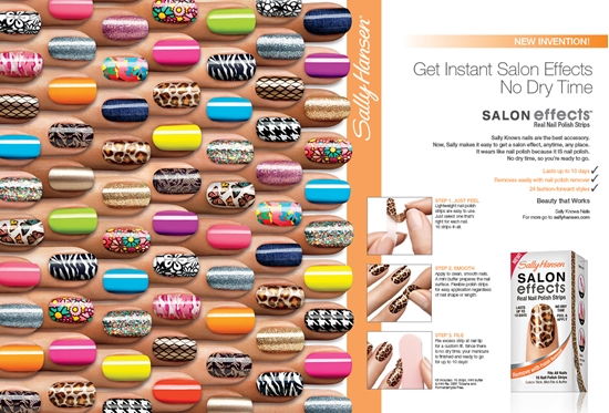 Picture of Sally Hansen Salon Effects - TWIN PACK ! Real Nail Polish Strips