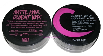 Picture of Volt Matte Hair Cement Wax