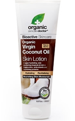 Picture of Dr Organic - Virgin Coconut Oil Skin Lotion 200 ml