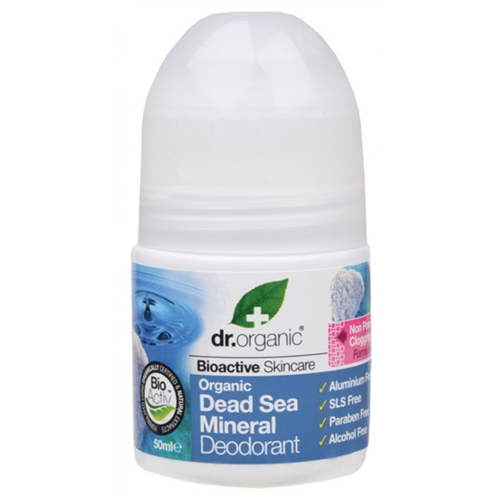 Picture of Dr Organic -Dead Sea Mineral Roll-on Deodrant 50 ml