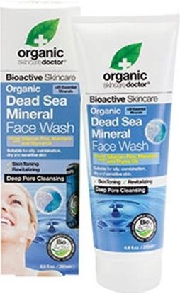 Picture of Dr Organic -Dead Sea Mineral Face Wash 200 ml