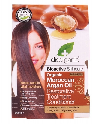Picture of Dr Organic Treatment Conditioner -Moroccan Argan Oil