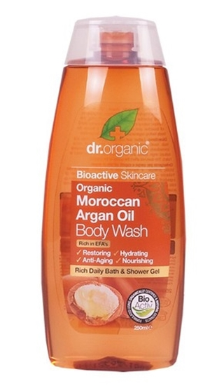 Picture of Dr Organic Body Wash-Moroccan Argan Oil