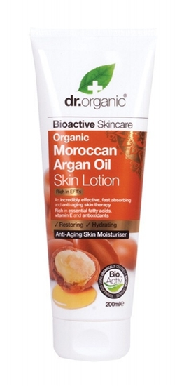 Picture of  Dr Organic Skin Lotion-Moroccan Argan Oil