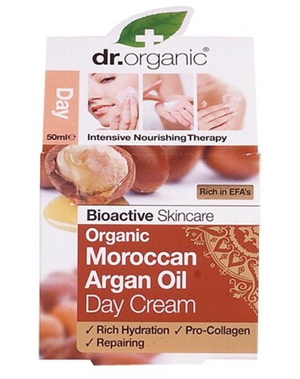 Picture of  Dr Organic Day Cream-Moroccan Argan Oil