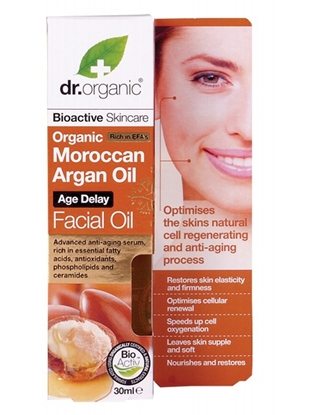 Picture of Dr Organic Facial Oil -Moroccan Argan Oil 30ml