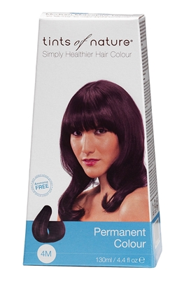 Picture of Tints of Nature Hair Colour - Mahogany Brown 4M 130ml