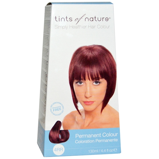 Picture of  Tints of Nature Hair Colour - Earth Red  4RR 130ml