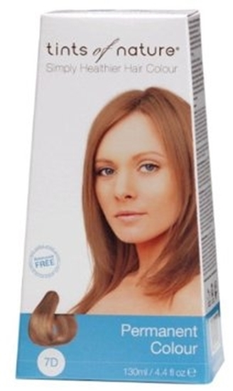 Picture of Tints of Nature Hair Colour - Med Gold Blonde 7D 130ml