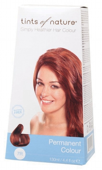 Picture of Tints of Nature Hair Colour - Soft Copper Blonde 7R130ml