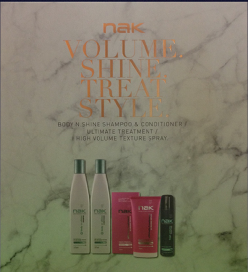 Picture of NAK Gift Pack Volume,Shine,Treat and Style