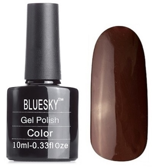 Picture of Bluesky Gel Polish- Wedgewood A48 Deep Brown