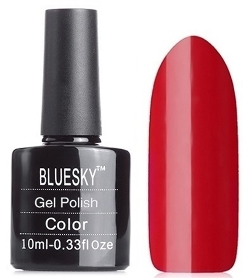 Picture of Bluesky Gel Polish- Classic Red 7369
