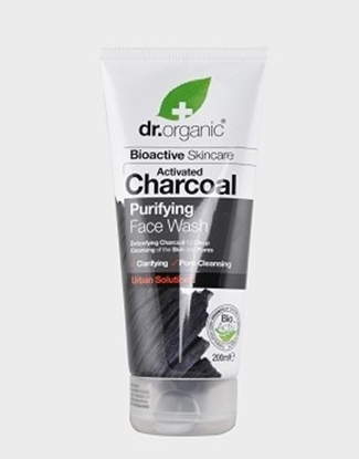 Picture of Dr Organic Activated Charcoal  Purifying  Face Wash