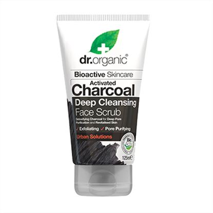 Picture of Dr Organic Activated Charcoal  Deep Cleansing Face Scrub